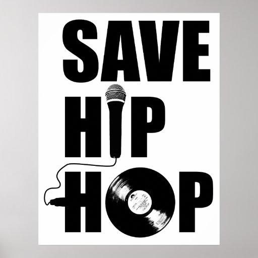 Save Hip-Hop Poster