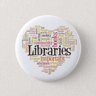 Save Libraries 1 2 Inch Round Button