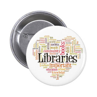 Save Libraries 1 2 Inch Round Button