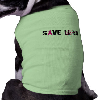 SAVE LIVES 2011 FRONT SHIRT