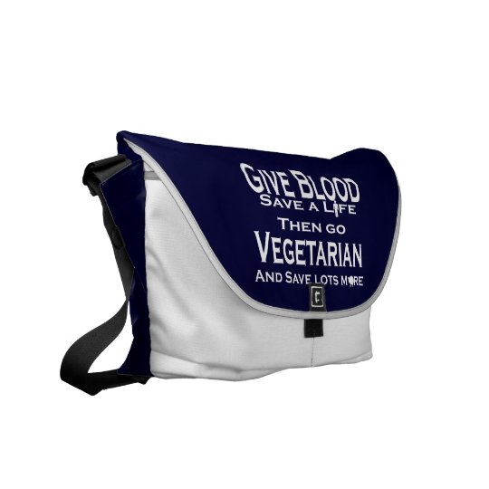 Save Lives Messenger Bag