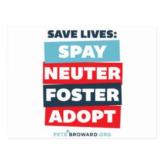 Save Lives Postcard