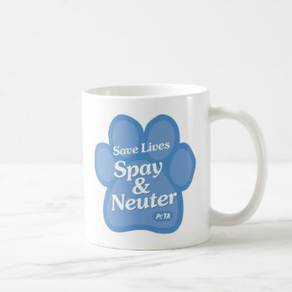 Save Lives, Spay & Neuter Mug