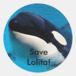 Save Lolita Sticker Sheets