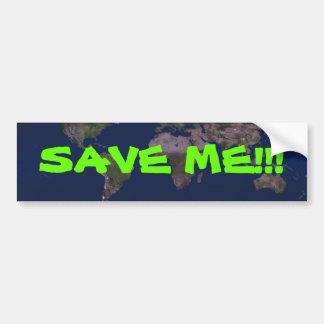 SAVE ME!!! CAR BUMPER STICKER