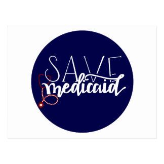 Save Medicaid Postcard
