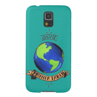Save Mother Earth Galaxy S5 Covers