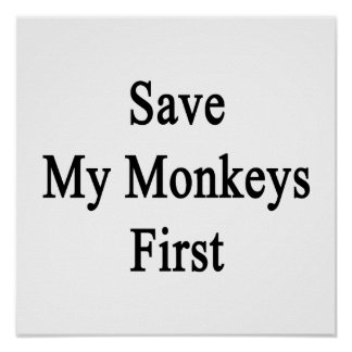 Save My Monkeys First Print