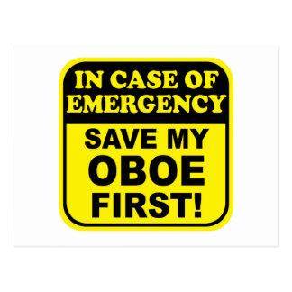 Save My Oboe Postcard
