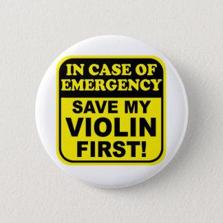 Save My Violin 2 Inch Round Button