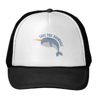Save Narwhals Trucker Hat