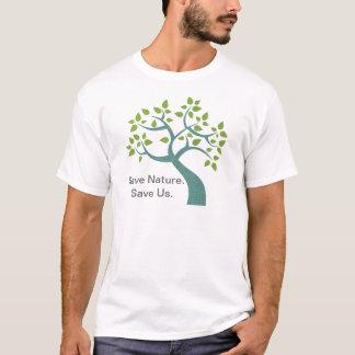 Save Nature Save Us Tree Tee