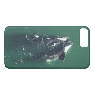 Save North Atlantic Right Whales by RoseWrites iPhone 7 Plus Case