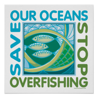 Save Oceans Poster
