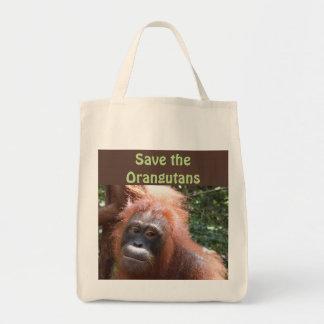 Save Orangutan Endangered Wildlife