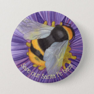 Save Our Bees Personalized Button