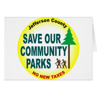 Save Our Community Parks Card