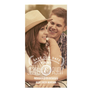 SAVE OUR DATE | SAVE THE DATE ANNOUNCEMENT CARD