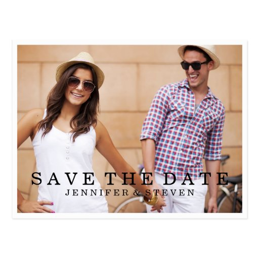 SAVE OUR DATE | SAVE THE DATE ANNOUNCEMENT POST CARD