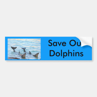 Save Our Dolphins Bumper Sticker