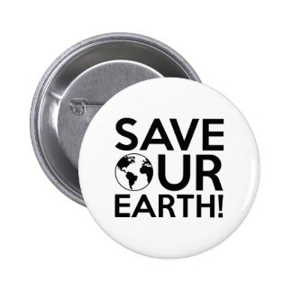 Save Our Earth 2 Inch Round Button