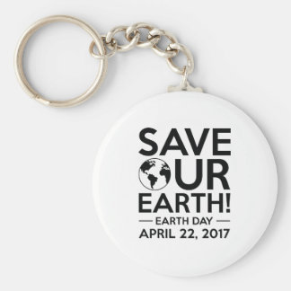 Save Our Earth Keychain