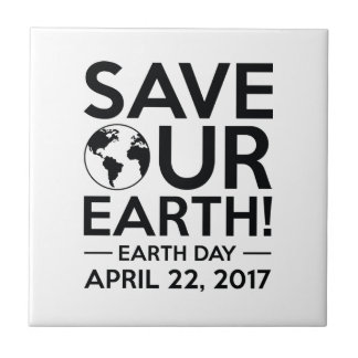 Save Our Earth Tile