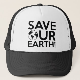 Save Our Earth Trucker Hat