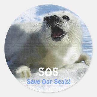 SAVE OUR HARP SEALS Design