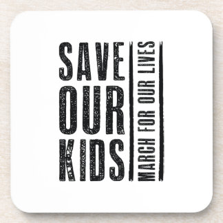 Save Our Kids Coaster