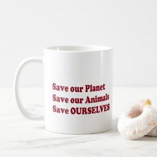 save our lions love people wild animals lion hugs coffee mug