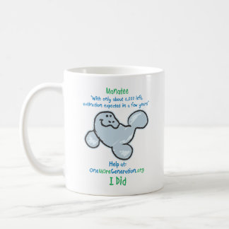 Save our Manatees Coffee Mug