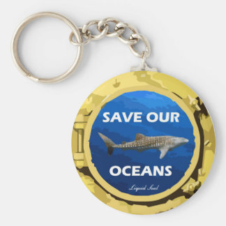 Save Our Oceans - Keychains
