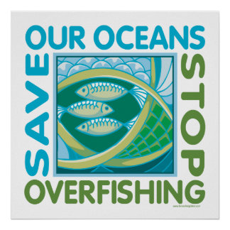. Save Our Oceans Poster