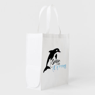 Save our Oceans Reusable Grocery Bag