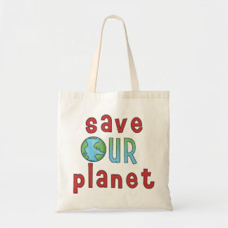 Save Our Planet *Accent Bag* Tote Bag