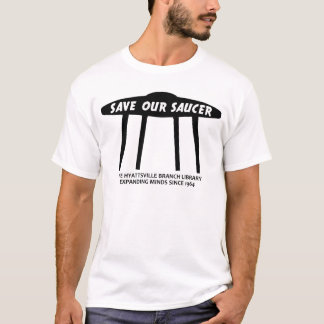 Save Our Saucer Clothing T-Shirt