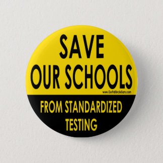 Save Our Schools 2 Inch Round Button