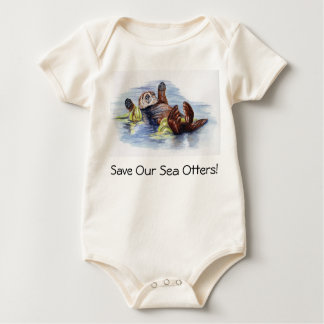 Save Our Sea Otters Baby Creeper