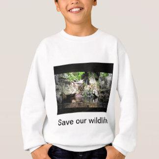 Save our wildlife sweatshirt