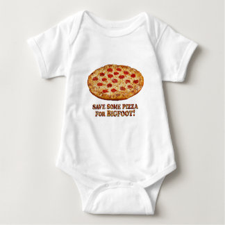 Save Pizza for BIGFOOT - Multi Clothes Baby Bodysuit