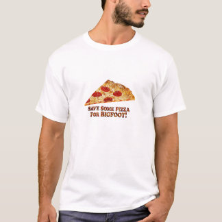 Save_Pizza_for BIGFOOT - Multi-Clothes T-Shirt