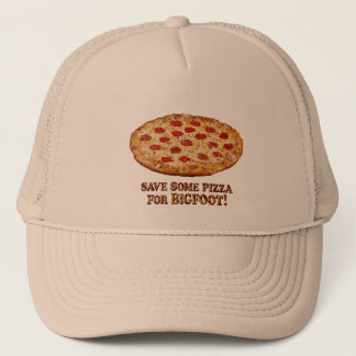 Save Pizza for BIGFOOT - Multi Clothes Trucker Hat