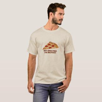 Save Pizza for BIGFOOT w/Slice - Basic T-Shirt