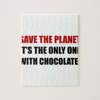 Save Planet Chocolate Puzzles