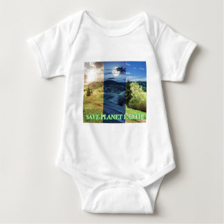 Save Planet Earth Baby Bodysuit