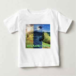 Save Planet Earth Baby T-Shirt