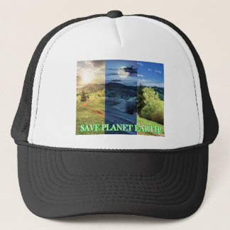 Save Planet Earth Trucker Hat