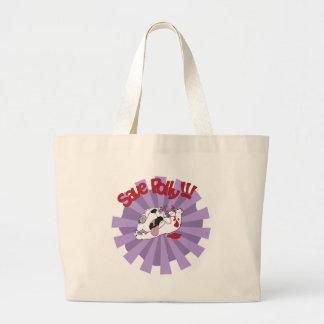 Save Polly the Polar Bear Tote Bag