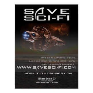 Save Sci Fi Official Convention Poster 02